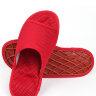 Массажные тапочки Релаксы красные