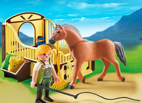 2 шт. доступно к заказу/Конный клуб: Рабочая лошадка и загон#