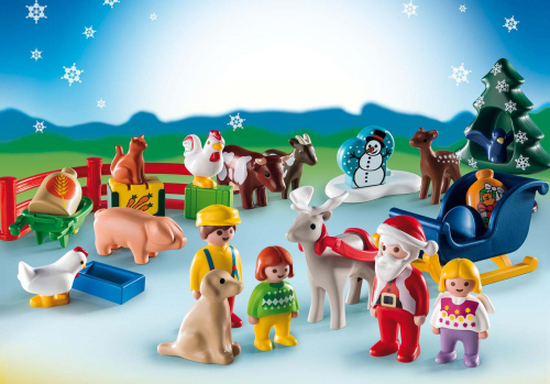 1 шт. доступно к заказу/Набор-календарь: Рождество на Ферме 1.2.3