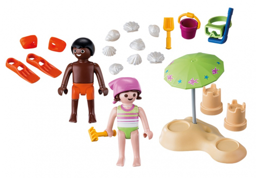 1 шт. доступно к заказу/Экстра-набор:Дети на пляже