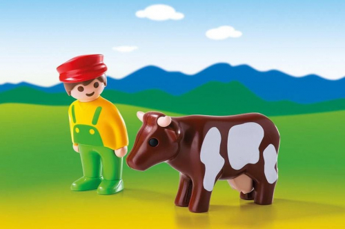 4 шт. доступно к заказу/1.2.3.: Фермер с коровой