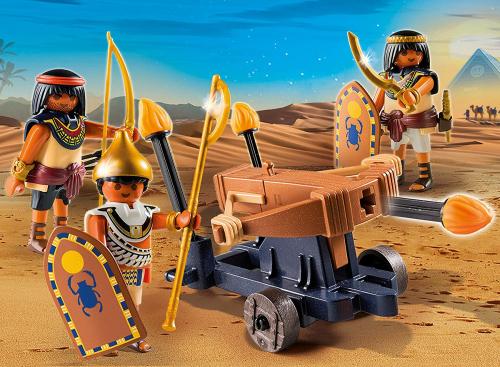 30 шт. доступно к заказу/Римляне и Египтяне: Египетский солдат с Баллистой