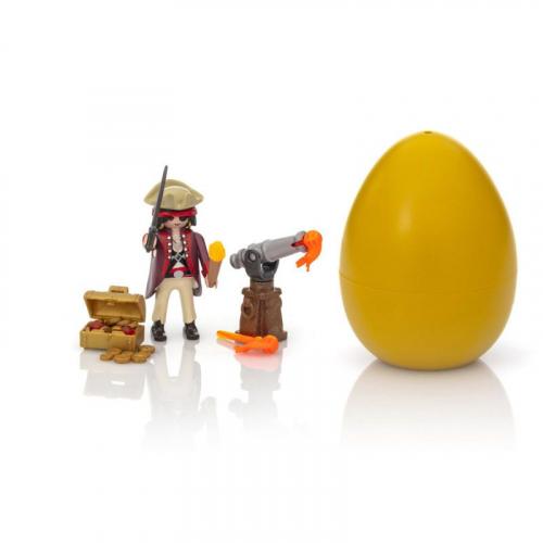1 шт. доступно к заказу/Новинка 2019.Пасхальное яйцо:Пират с пушкой