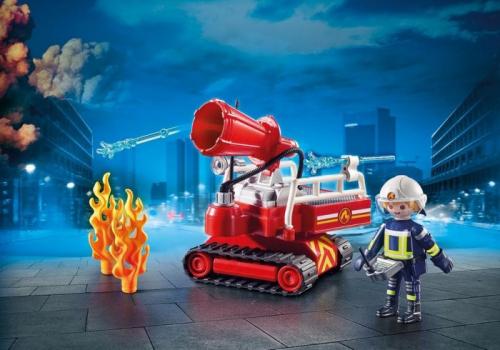 1 шт. доступно к заказу/Новинка 2019.Пожарная служба: пожарная машина с пенной пушкой