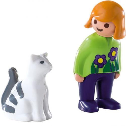 1 шт. доступно к заказу/1.2.3.: Женщина с кошкой