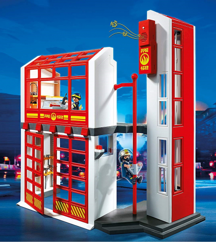 1 шт. доступно к заказу/Пожарная служба: Пожарная станция с сигнализацией