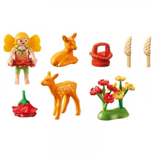 1 шт. доступно к заказу/Феи:Девочка-фея с оленятами
