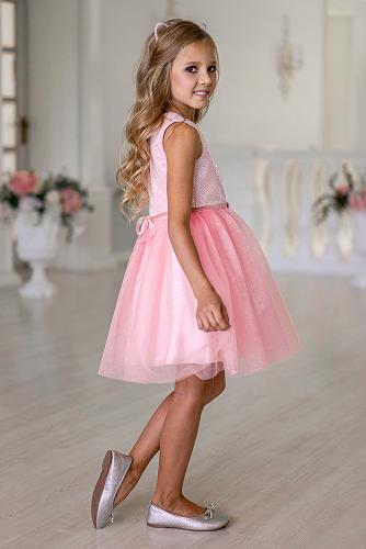 Платье #248926Розовый