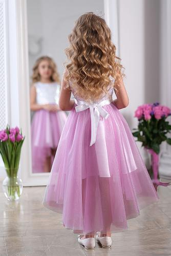 Платье #248924Цикламен