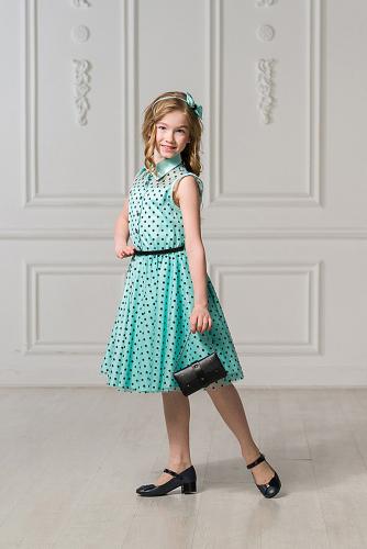 Платье #248301Бирюзовый