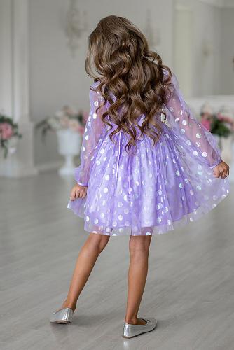 Платье #258116Сиреневый