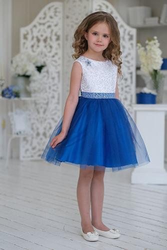 Платье #198356Прекраса синий