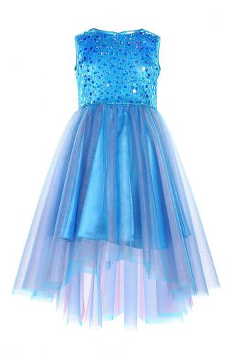 Платье #248905Васильковый