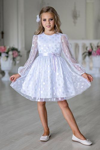 Платье #258114Белый