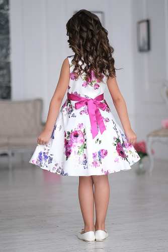 Платье #198113Афина белый