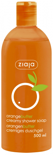 Крем-мыло для душа «Апельсиновое масло» Ziaja   Orange butter creamy shower soap Ziaja500 мл