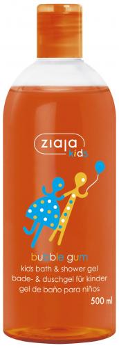 Детский гель для ванны и душа Bubble Gum Ziaja | Kids bath & shower gel Bubble Gum Ziaja500 мл