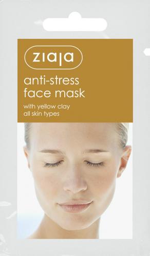 Маска из жёлтой глины анти-стресс Ziaja | Anti-stress face mask with yellow clay Ziaja7 мл