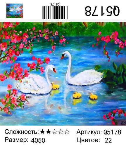 Q5178 Картины-раскраски по номерам 40х50