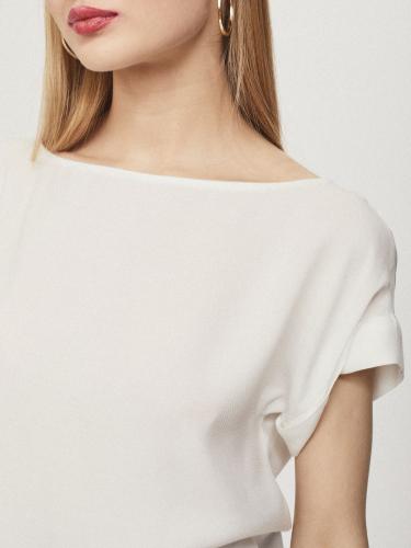 Блуза с отворотами