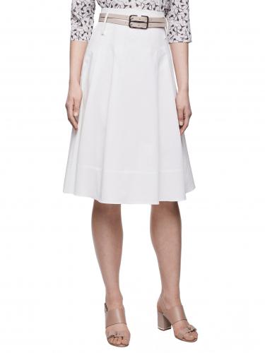 Расклешенная юбка с высокой посадкой