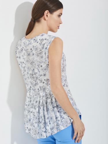 Блуза со складками