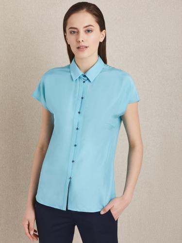 Свободная блуза из вискозы