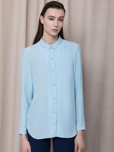 блуза со съемным воротником