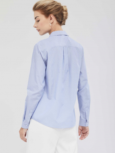 Рубашка с фантазийным воротником