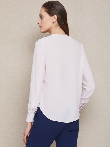 блуза с закругленным низом