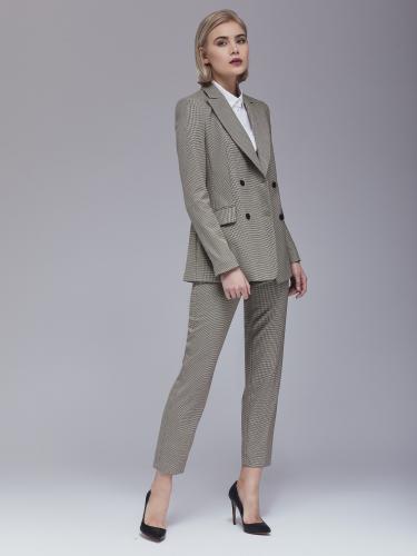 Укороченные костюмные брюки