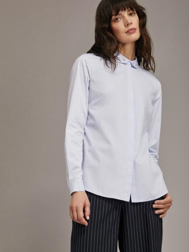 Рубашка с воротником на пуговицах