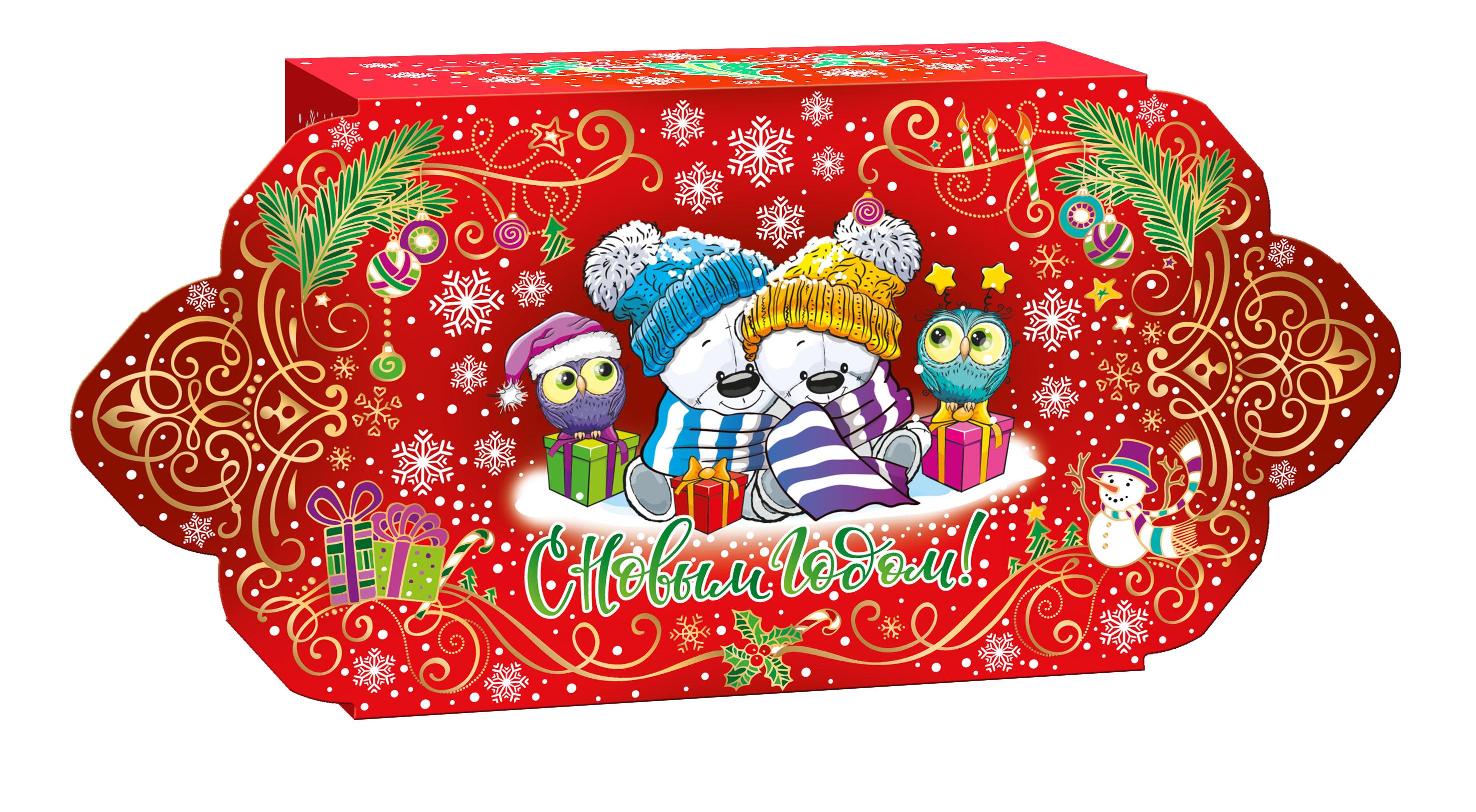 картинка подарочные конфеты новогодние когда даче