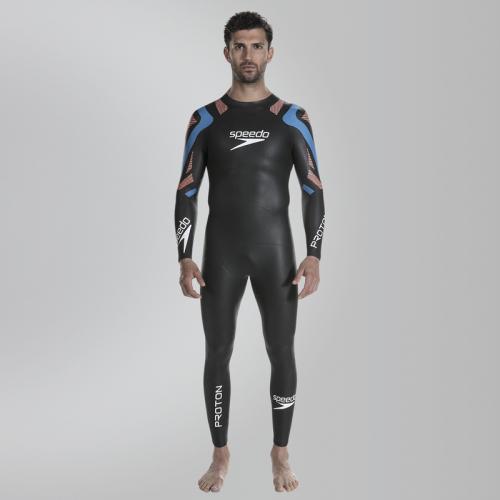SPEEDO FASTSKIN PROTON MALE FULLSUIT костюм закрытый, (C144) чер/син