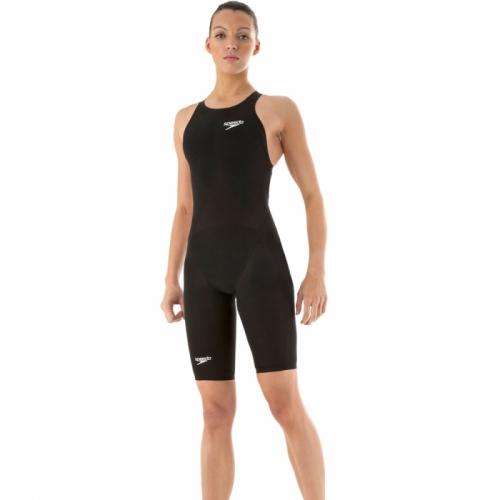 SPEEDO LZR RACER ELITE RECORDBREAKER KNEESKIN костюм для плавания жен., (0001) чер