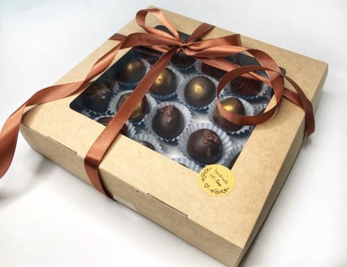 Шоколадные трюфельные конфеты