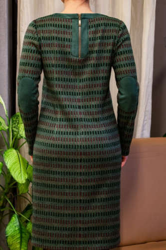 Платье Тальвиль зеленое