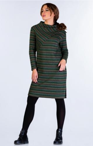 Платье Грэнс зеленое