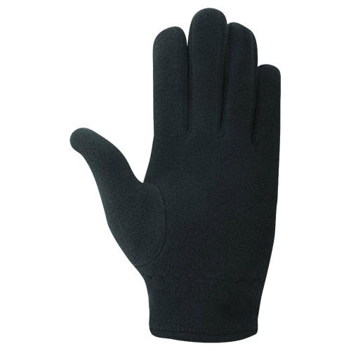 FLEECE GLOVES, перчатки флис, (010) чер/бел