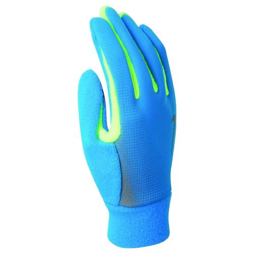 713р. 2590р. NIKE MEN'S TECH THERMAL RUNNING GLOVES S BLUE HERO/VOLT, перчатки для бега, (471) син/салат