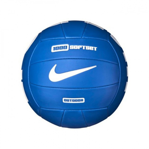 NIKE 1000 SOFTSET OUTDOOR VOLLEYBALL 18P SIGNAL BLUE/SIGNAL BLUE/WHITE/WHITE 05, волейбольный мяч, (427) син/син/бел/бел