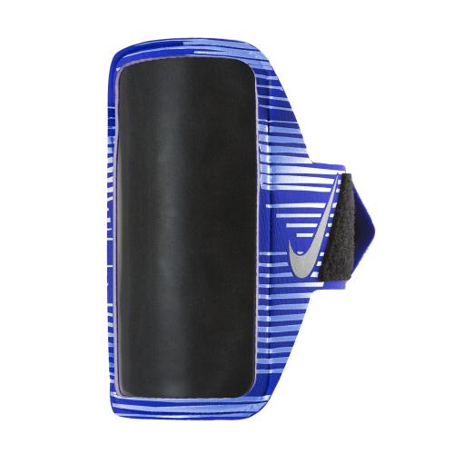 NIKE PRINTED LEAN ARM BAND OSFM PARAMOUNT BLUE/ALUMINUM/SILVER, чехол для телефона, (439) син/алюм/серебр