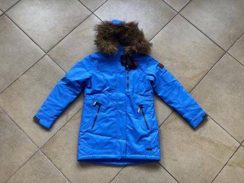 Теплая зимняя мембранная парка High Experience цвет Light Blue р. 146+