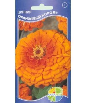 Цинния изящная Оранжевый Король
