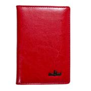 440р. 580р.Обложна на паспорт натуральная кожа                  модель 6391                                цвет красный