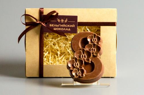 Шоколадная фигурка «8 марта (1) Орхидеи»