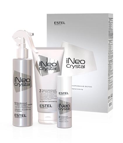 CR/N1 Набор для процедуры ламинирования волос ESTEL  iNeo-Crystal