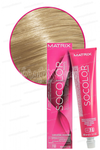 Matrix SoColor.beauty 10G Очень светлый блондин золотистый Крем-краска для волос 90 мл.