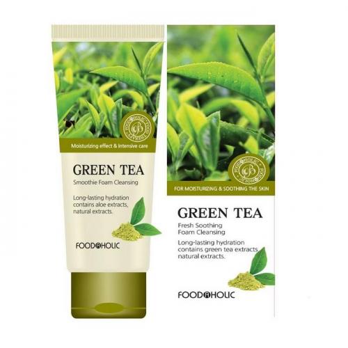 Пенка для умывания с экстрактом Зеленого Чая