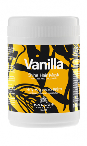 KALLOS Маска ВАНИЛЬ для блеска имягкостисухих и тусклых волос, 1000 ml